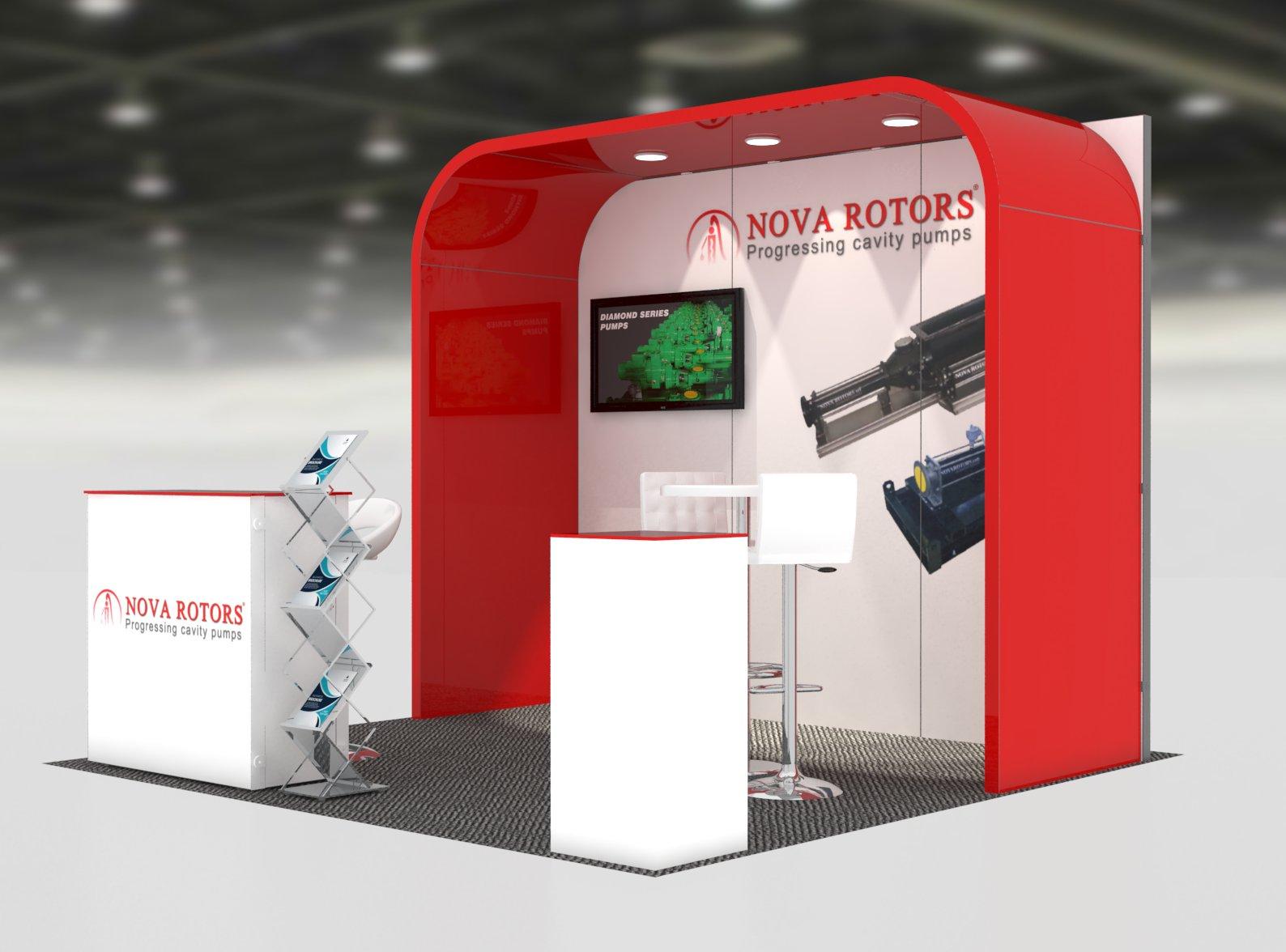 Trade Show Exhibits Anvi 10x10