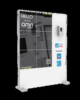 """Hand Sanitizer Dispenser - Hi-LED Edition - 58""""x78"""""""