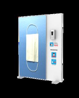 """Hand Sanitizer Dispenser - Backlit Edition - 58""""x78"""""""