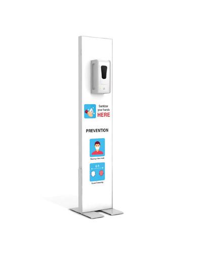 "Hand Sanitizer Dispenser - Basic Edition - 12""x58"""
