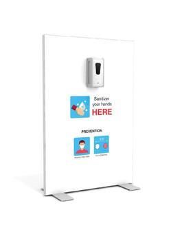 "Hand Sanitizer Dispenser - Basic Edition - 39""x58"""