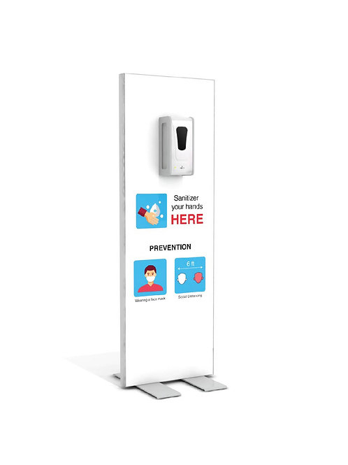 "Hand Sanitizer Dispenser - Basic Edition - 19""x58"""