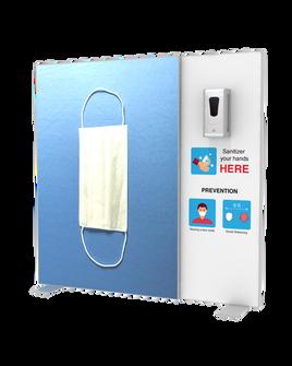 """Hand Sanitizer Dispenser - Backlit Edition - 58""""x58"""""""