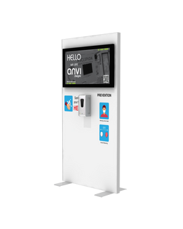 "Hand Sanitizer Dispenser - TV Edition - 39""x78"""
