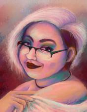 Hue-reserved Portrait