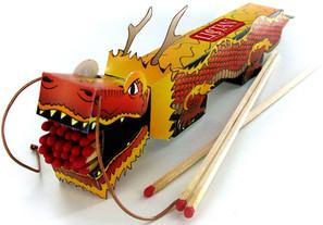 Dragon Matchbox
