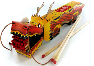 Dragon Matchbox