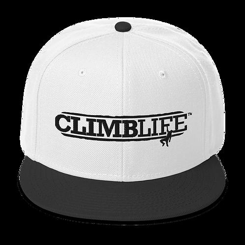 ClimbLife™ Branded Boulderer's Snapback Hat