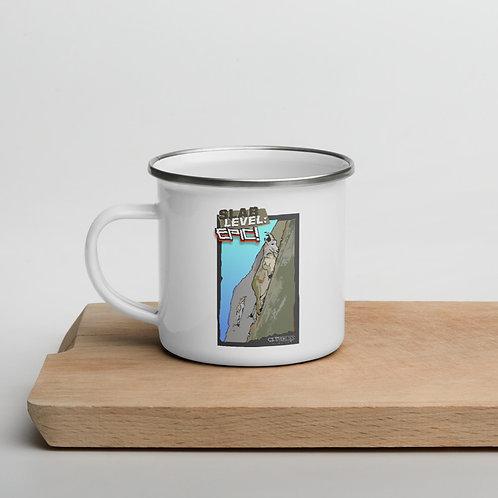 ClimbLife™ - Slab Level Epic Enamel Mug