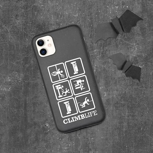 ClimbLife™ Eat | Sleep | Climb Biodegradable phone case