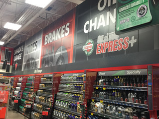 Canadian Tire Wall Wrap