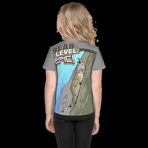Slab Level Epic - Kids T-Shirt - Grey