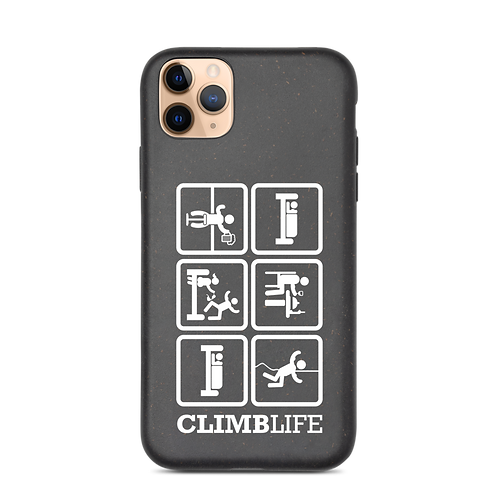 ClimbLife™ Eat | Sleep | Climb Biodegradable phone case