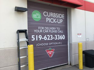 Curbside pickup, wrap-up!