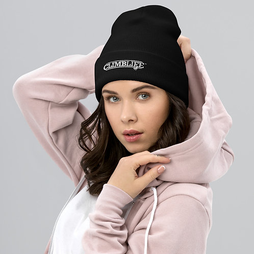 ClimbLife™ Branded Embroidered Cuffed Beanie