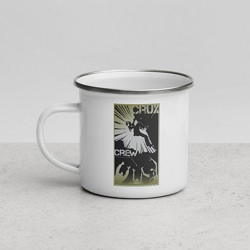 ClimbLife™ CruxCrew Enamel Mug