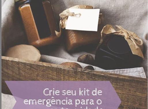 Kit de emergência para o autocuidado
