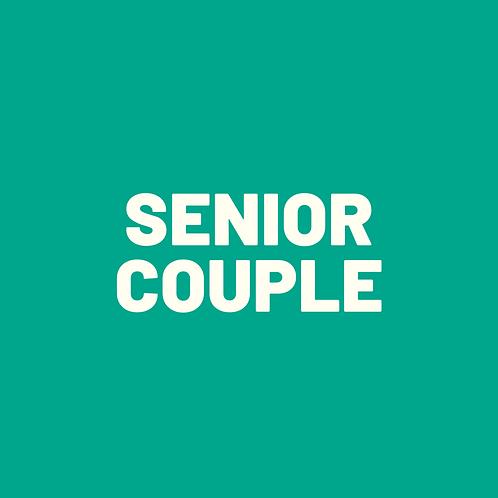 Early Bird Senior Couple