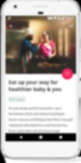 App for pregnant women