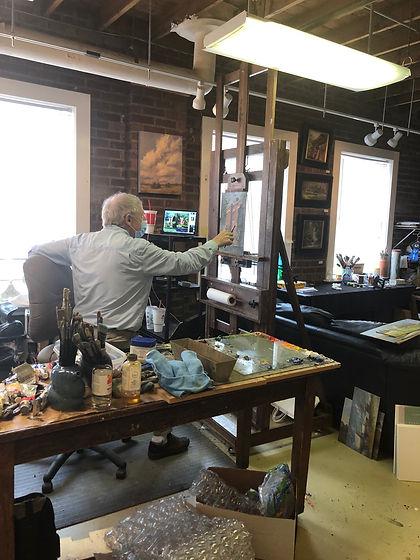 Bob Sandford in studio.JPG