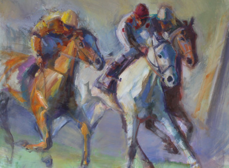 Cissy Hamilton Paints through Derby Week