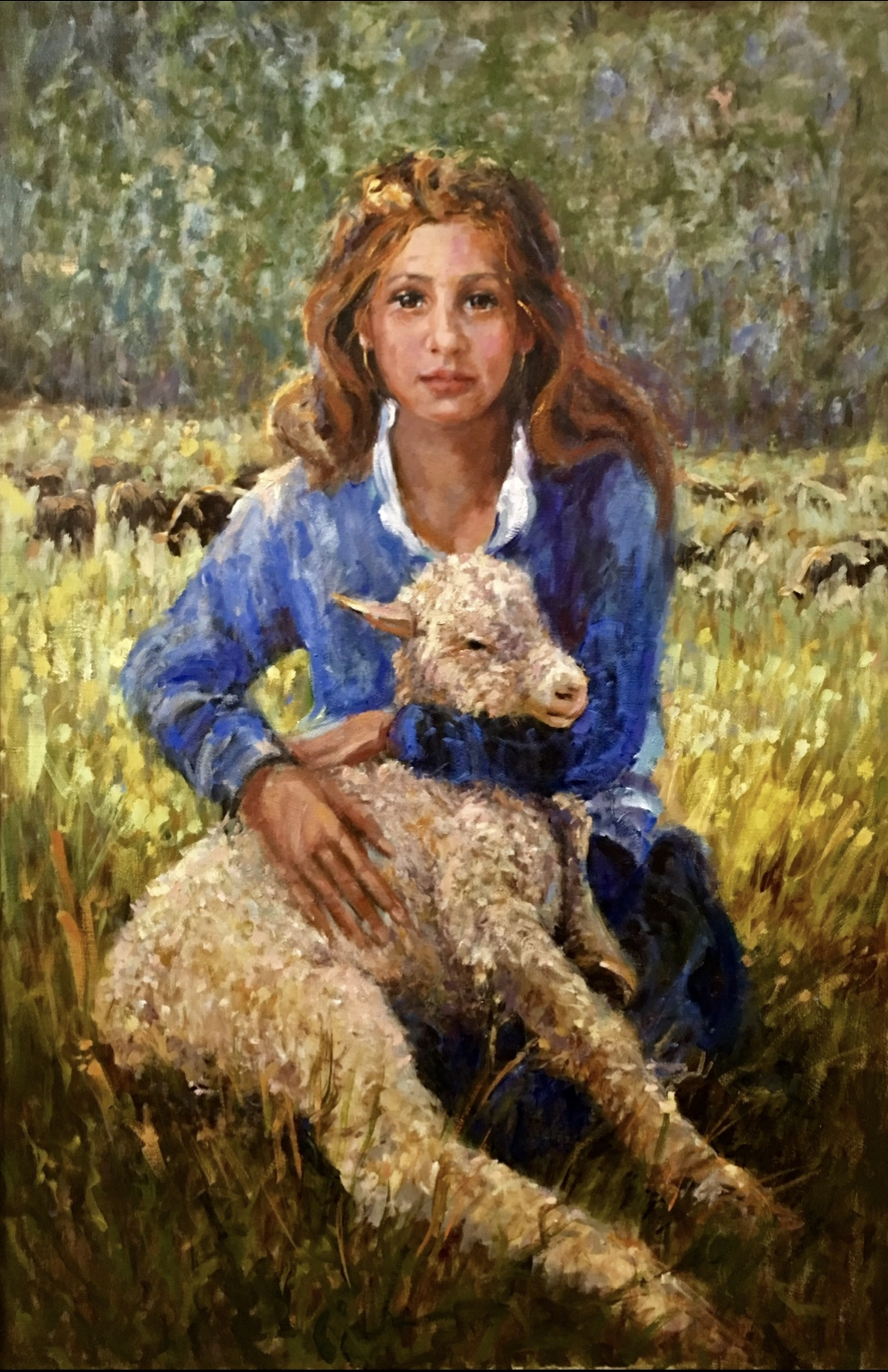 Little Shepherdess of Provence