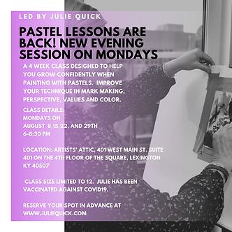 Pastel Classes with Julie Quick