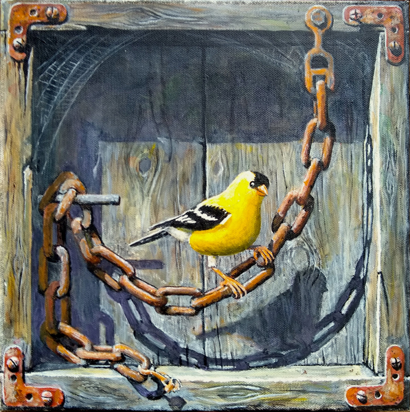 """""""Goldfinch Unchained"""""""