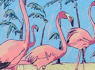 Flamingos Katie Humphress.JPG