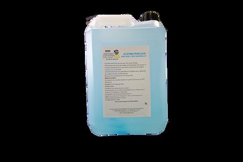 SCEPMA - CARTON 4 Bidons Produit Rinçage Lave-Ustensile
