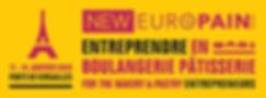 Bandeau affichage Salon Europain