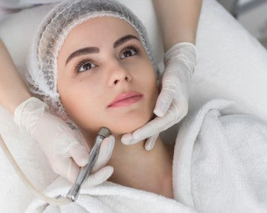 HydraFacial for acne skin & LED mask