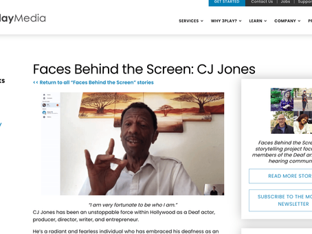 Faces Behind the Screen: CJ Jones