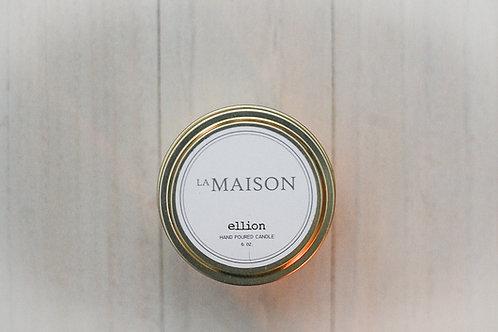 LA MAISON travel candle - 6 oz