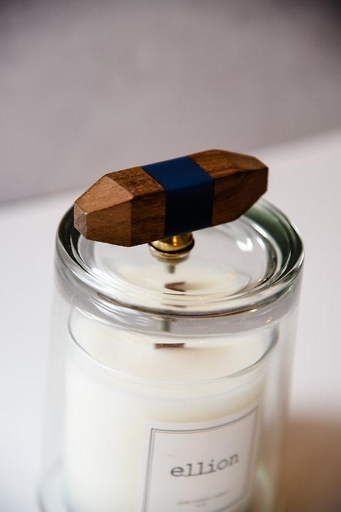 Wood knob cloche