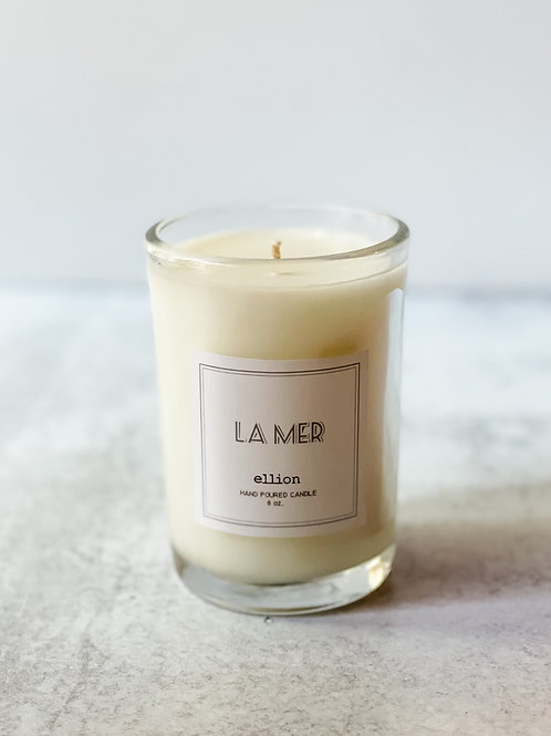 la mer cotton wick tumbler - 8oz