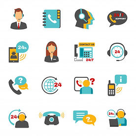 support-contact-call-center-icons-set_12