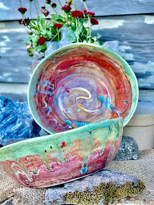 Rainbow bowls (2)