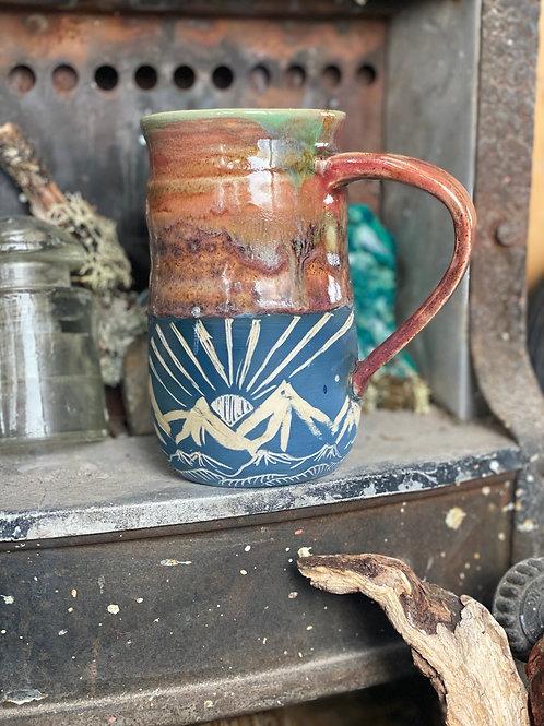 Sun & moon mug