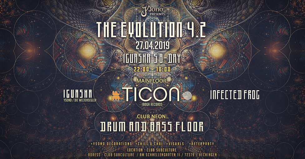 the evolution 4 march 2019 event banner.