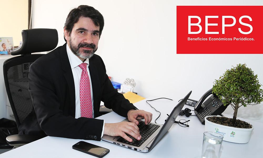 El vicepresidente del programa BEPS, Javier Eduardo Guzmán. Foto: Colpensiones