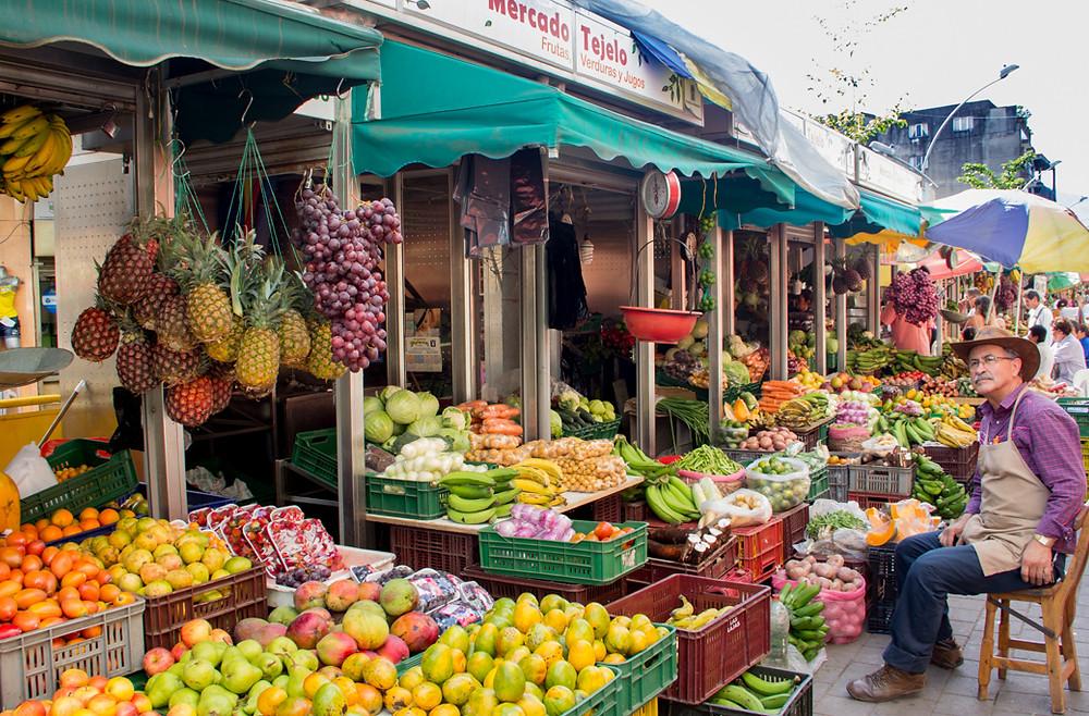 Mercado de Tejelo. Foto: Medellín Convention Bureau