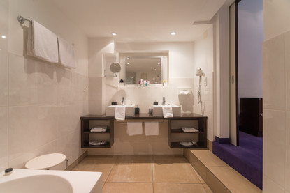 Badezimmer in Suite