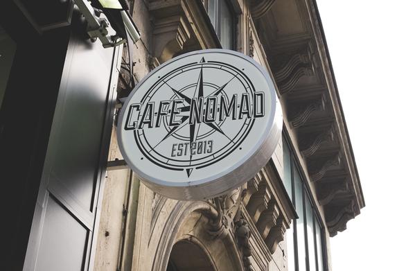 Cafe Nomad Signage