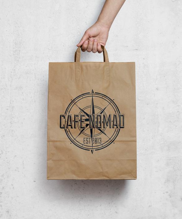 Cafe Nomad Paper Bag