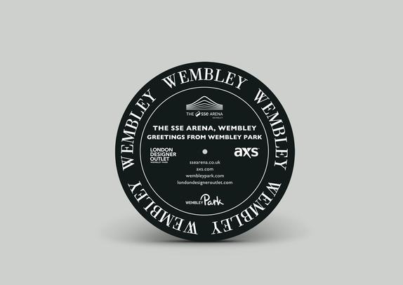 Wembley - Vinyl slipmat