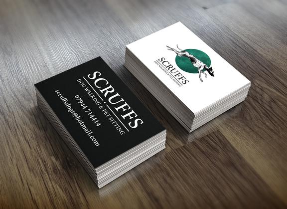 Scruffs Business Cards