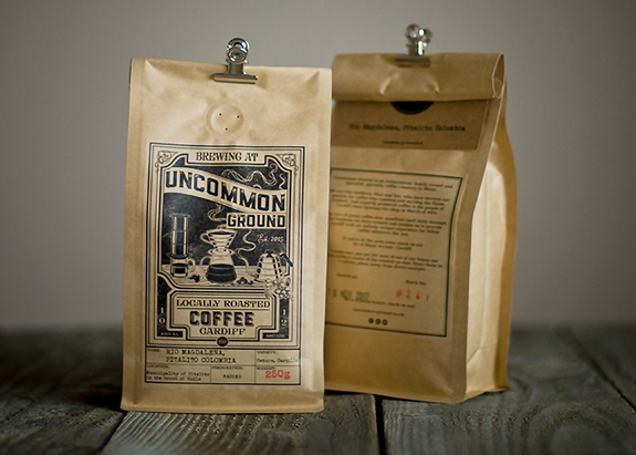 Uncommon Ground Brewing Coffee Bag