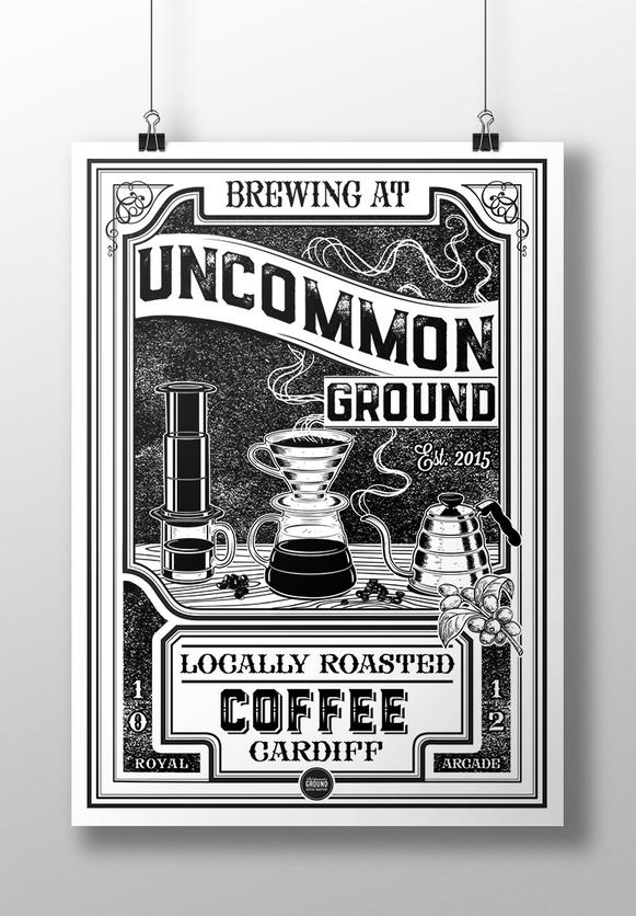 Uncommon Ground Brewing Print