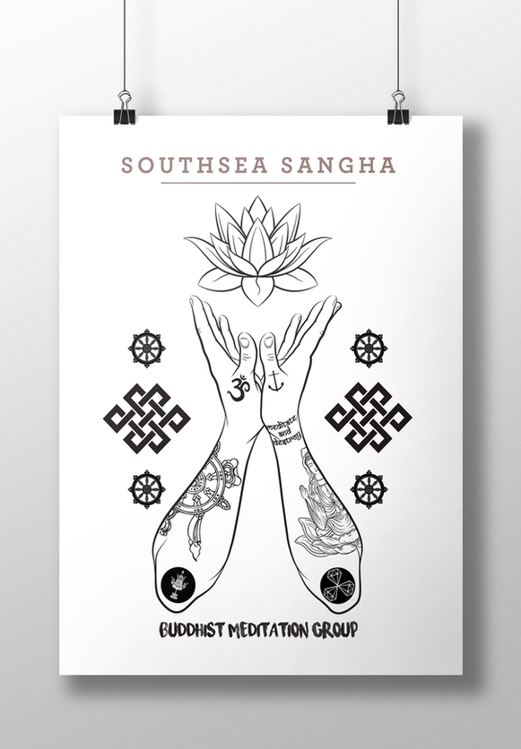 Southsea Sangha Poster